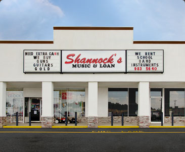 Visit Shannock's Music and Pawn!